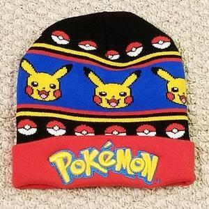 NWOT. Pikachu Pokemon Knit Hat